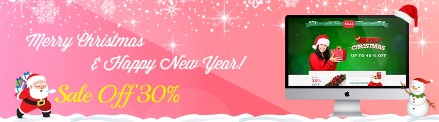 Merry Christmas & Happy New Year Whole Store Sale!